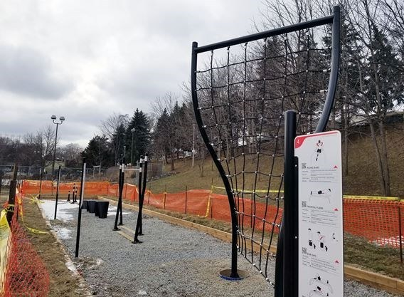 Outdoor gym is in the works at Greenwood Park in Toronto's east end