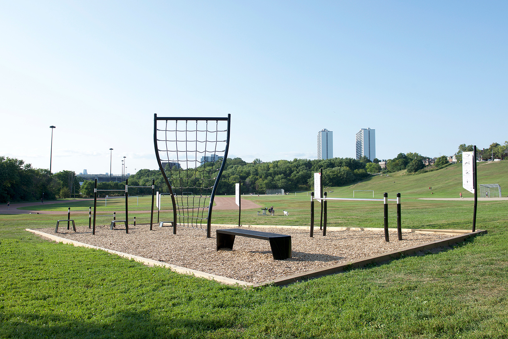 The top 5 outdoor gyms in Toronto