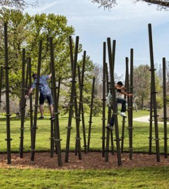 Outdoor fitness equipment for Winnipeg parks
