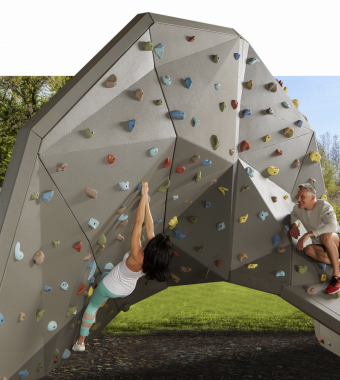 Our most recent innovation : TREKFIT Climbing Wall