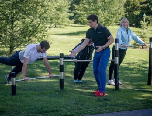 These are Montreal's 20 free outdoor Trekfit parks gyms