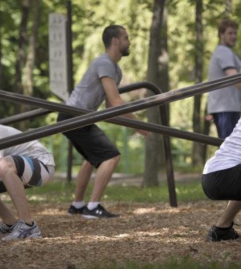 L'entraînement en plein air