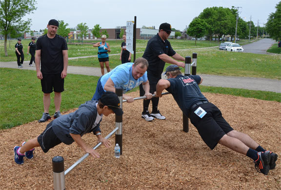 Fitness trail launched by city of Cambridge and innovates steam technologies