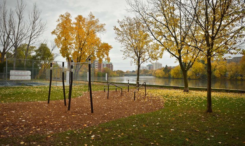 Outdoor fitness equipment for Ottawa parks